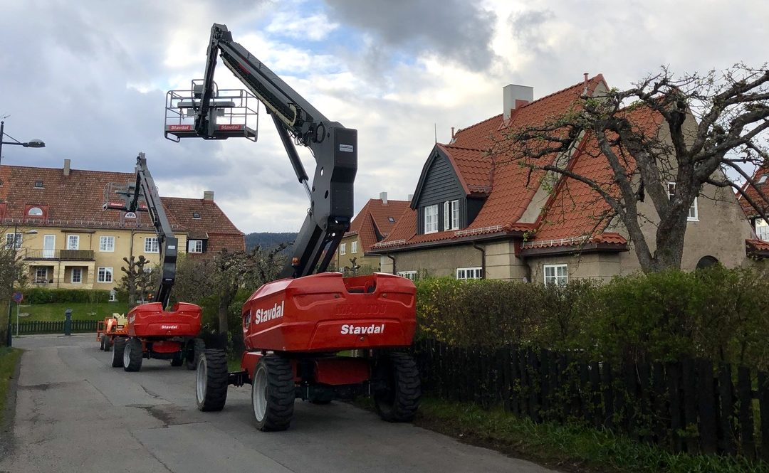 1000 vinduer får to strøk utvendig