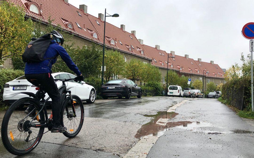 Kritisk til sykkeltrasé i Eventyrveien