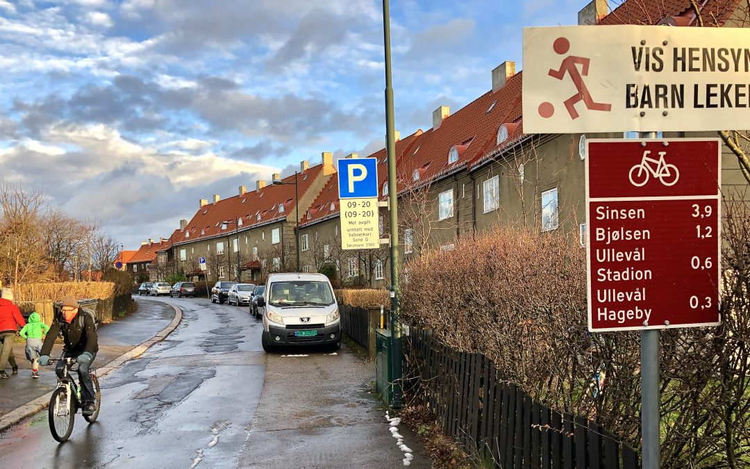 Parkeringsforbud på ettervinteren