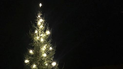 AVLYST: Julegrantenningen søndag